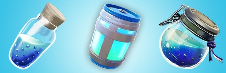 fortnite shield potions